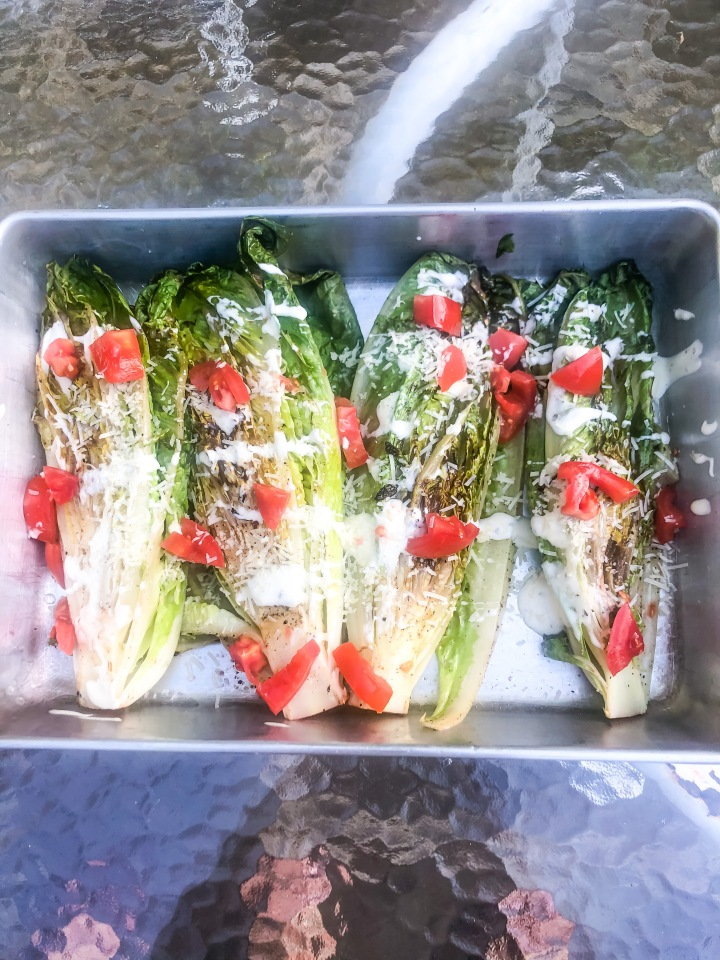 Chargrilled Romaine Lettuce